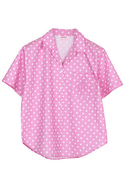 Josilins Polka Dot _ Short Shirt With Capri Pants