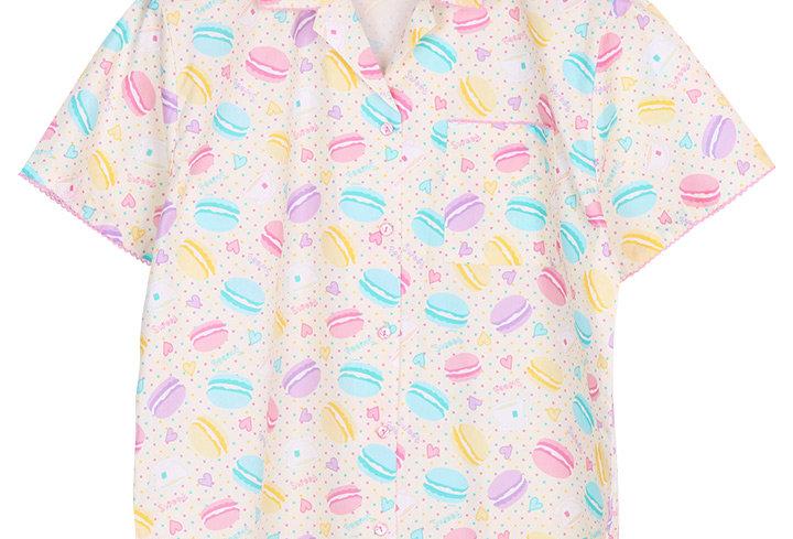Josilins Sweetie Macarons_ Short Shirt With Capri Pants