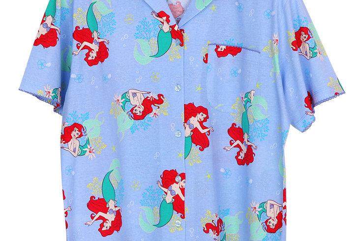 Ariel Starfish_Short Shirt With Short Pants