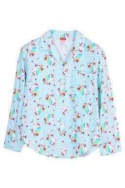 Emoji unicorn rainbow _ Long Shirt With Long Pants