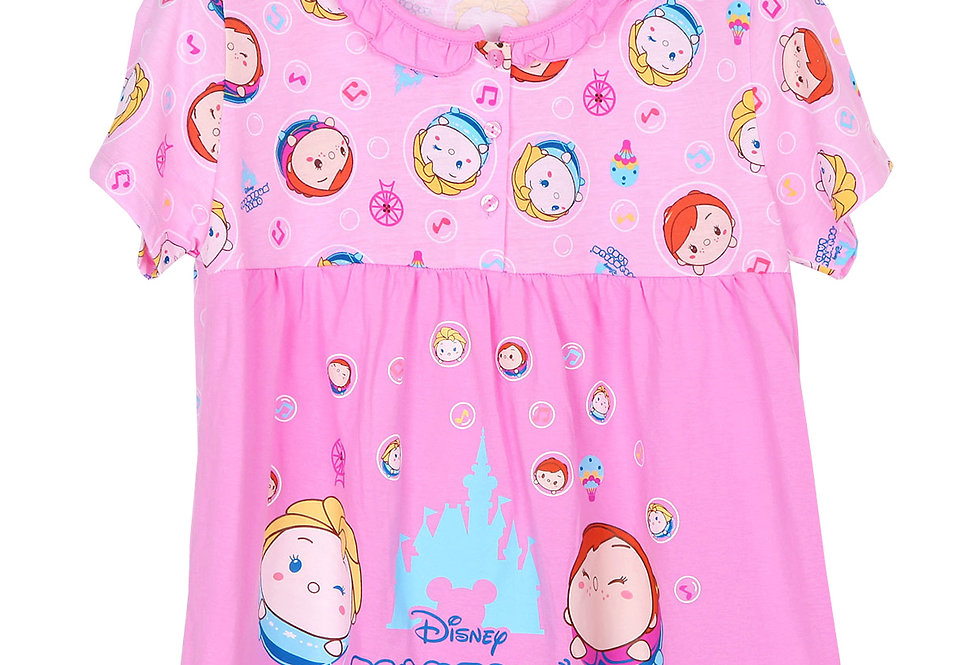 Tsum Tsum Land Frozen Collection_Short Shirt With Long Pant