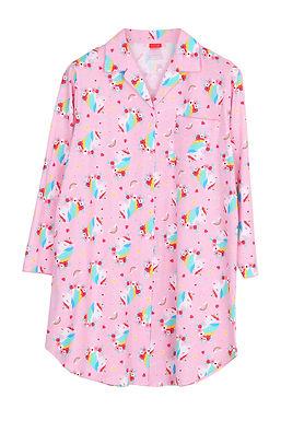 Emoji unicorn rainbow _ Long Sleeve Dress