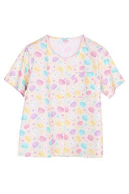 Josilins Sweetie Macarons_ Short T-Shirt With Capri Pants XL