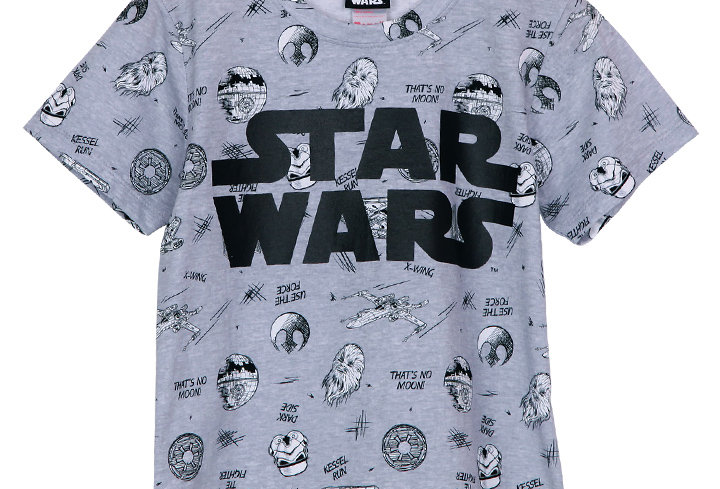 Starwars Sketch _ Short Shirt With Short Pants
