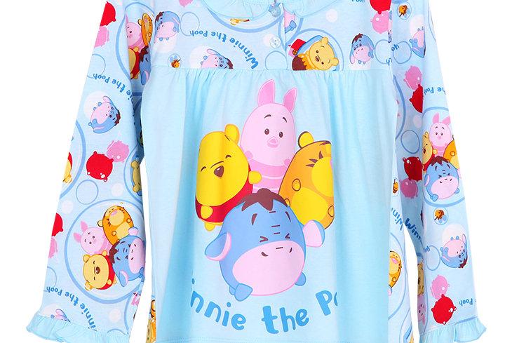 Tsum Tsum Pooh_Momoji_Long Shirt With Long Pants