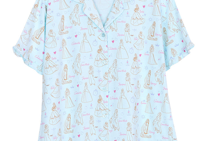 Disney Princess_Ultimate Princess_Short Shirt With Long Pants