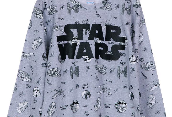 Starwars Sketch _ Long Shirt With Long Pants