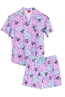 Mickey Go Thailand : Sawasdee Songkran _ Short Shirt With Short Pant