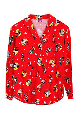 Minnie Mouse Dot2 _Long Shirt With Long Pants
