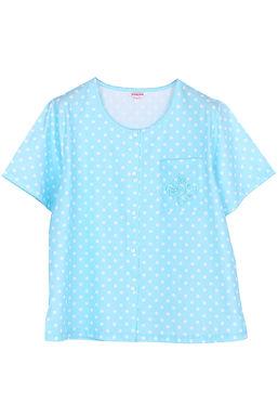 Josilins Polka Dot _ Short T-Shirt With Capri PantsXL