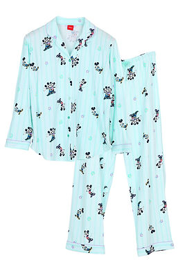 Mickey Go Thailand:Summer Flower _ Long Shirt With Long Pants