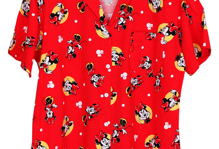 Minnie Mouse Dot2 _Short Shirt With Short Pants