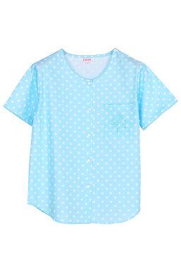 Josilins Polka Dot _Short T-Shirt With Capri Pants