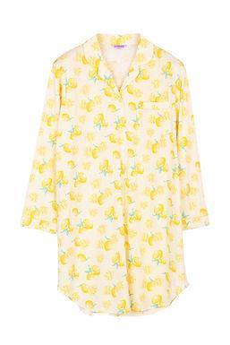 Josilins Splash Lemon _ Long Sleeve Dress