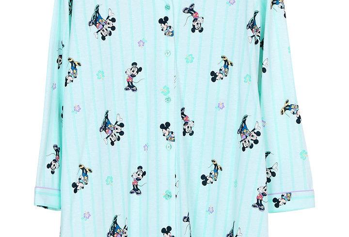 Mickey Go Thailand:Summer Flower _ Long Sleeve Dress