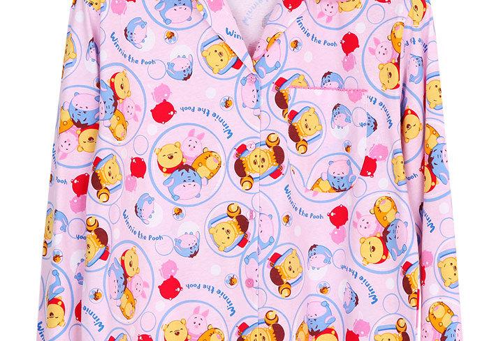 Tsum Winnie The Pooh _ Long Shirt With Long Pants