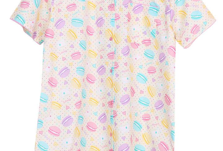 Josilins Sweetie Macarons_ Short Sleeve Dress