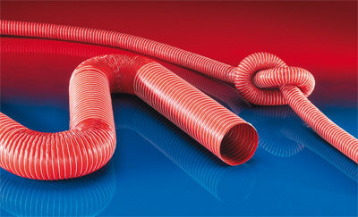 Norres Red Silicon Duct Hose (德国高温喉)