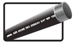 NCR Compressed Air Hose (黑色橡膠風喉)