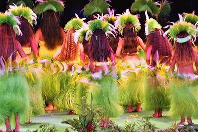 Bailes tahitianos
