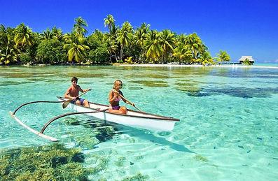 Vahine Island, Tahaa, Polinesia Frances