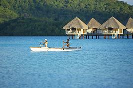 Piragua, Bora Bora, Polinesia Francesa
