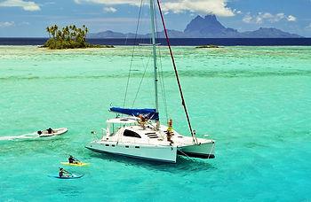 Arriendo de catamaranes en Polinesia Francesa