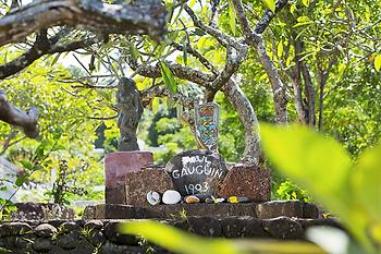 Hiva Oa, tumba de Paul Gauguin