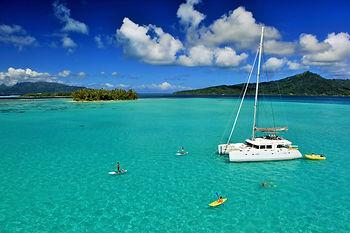 Polinesia Francesa, cruceros en catamarán