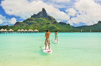 Tabla a remo, Le Meridien Bora Bora