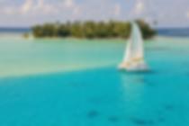 Tahiti Yacht Charter, catmarán en Tahaa