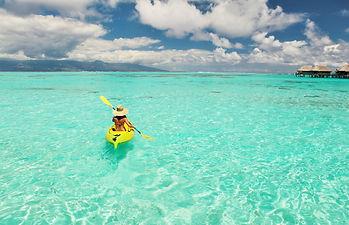 Kayak, Sofitel Moorea Ia Ora
