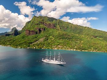 Crucero Windstar en Moorea, Polinesia Francesa