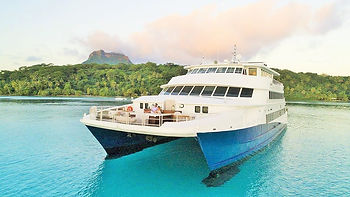 Haumana, cruceros en Polinesia