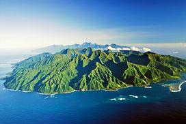 Tahiti desde el aire