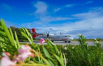 Air Tahiti, vuelos entre las islas