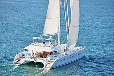 Cruceros en Polinesia, catamarán de Archipels Croisières