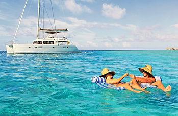 Cruceros en catamarán, Polinesia