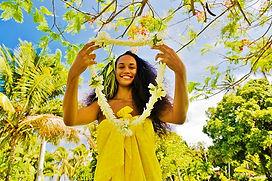 Tahiti, collar de bienvenida
