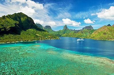 Bahía Opunohu, Moorea, Polinesia