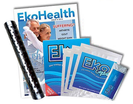 Eko Alkaline Filter Stick & Crystals Package