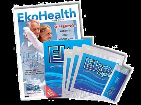 Eko Crystals Triple Pack (30 sachets)
