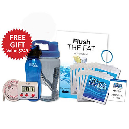 Flush the Fat Full Kit + Free Fat Machine