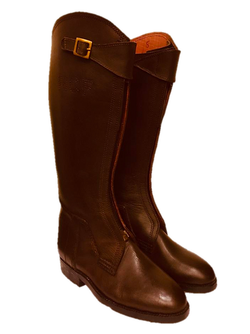 Leather Polo Boots - made to measure (with initials)