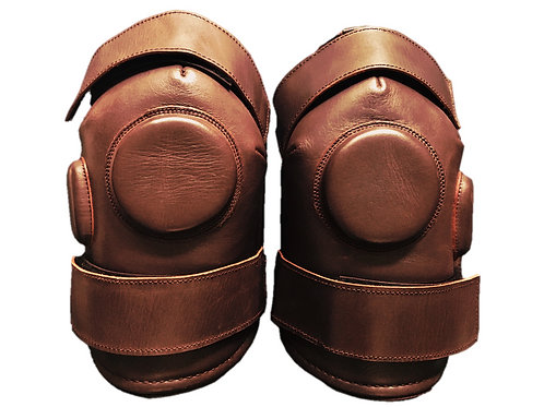 Kids Leather Knee Pads