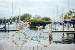 Bike on the dock