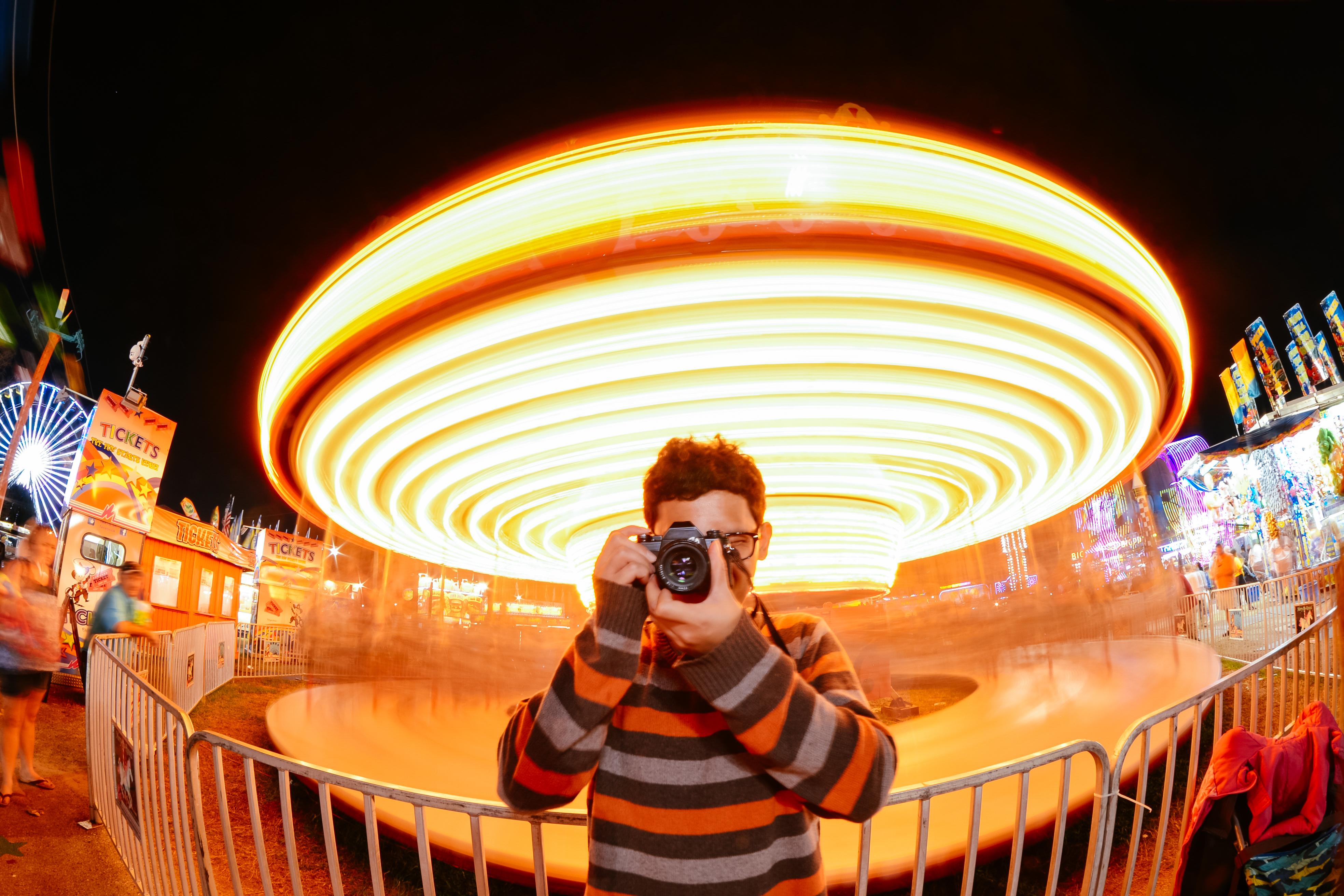 Merry Go Round long exposure