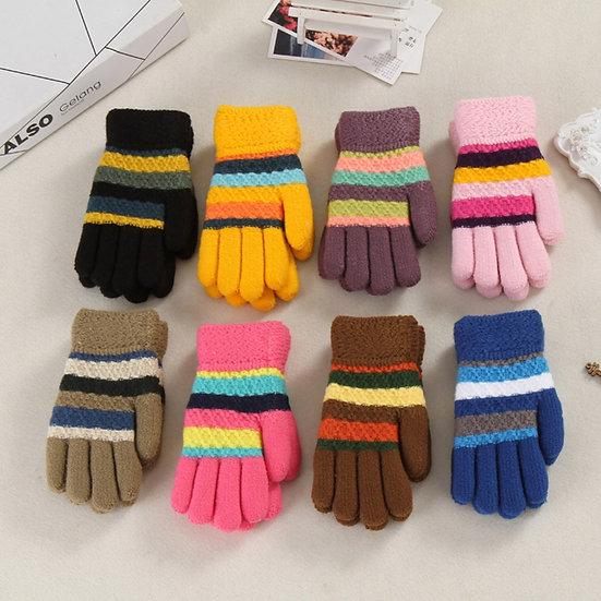 Fashion Toddler Baby Gloves Thicken Girls Boys