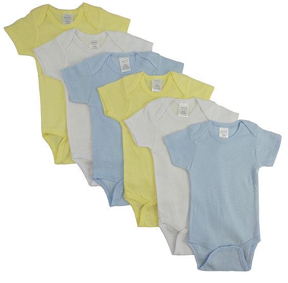 Pastel Boys' Short Sleeve 6 Pack