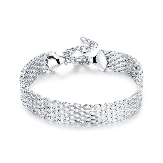 Montfermeil 18K White Gold Plated Bracelet